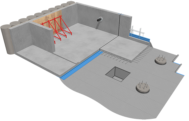 Basement Waterproofing Products | Fosroc